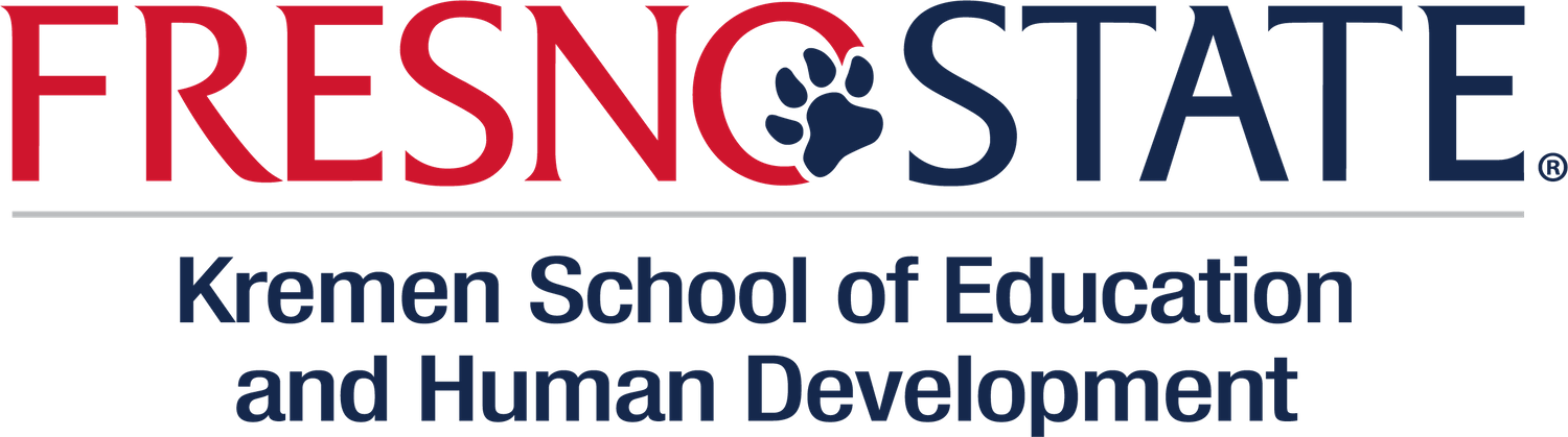 Logo Fresno State Kremen School of Education and Human Development